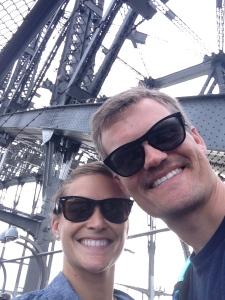 Walking across the Harbour Bridge!